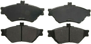 Front Semi Metallic Brake Pads 95-97 Lincoln Town Car Ford Crown Victoria