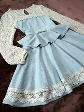 Princess form Peplum Dress LIZ LISA Japan-M Hime Lolita J-fashion Romantic 109