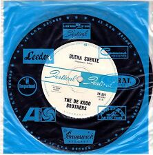 "The De Kroo Brothers-Buena Suerte-7"" Single-1964 Festival Australia-FK-597-Rare!"