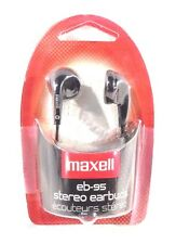 Maxell Stereo EarBuds - EB-95. BLACK