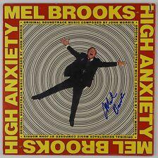 Mel Brooks JSA High Anxiety Autograph Signed Soundtrack Record Album