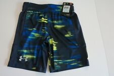 NWT Under Armour 5 Blue Green Shorts Short Pants Summer Soccer Unisex