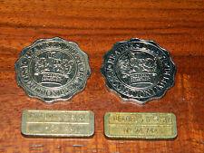 lot 4 TOKEN Medaille JETON reader's digest association PRIZE DRAW DEPARTEMENT