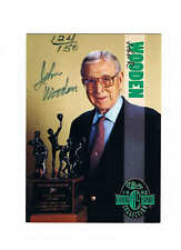 1993 Classic Four Sport Autographs JOHN WOODEN 124/150 (*FREE SHIPPING*) Auto