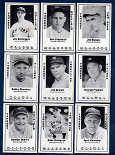 "Diamond Greats: NEW YORK YANKEES Complete Team Set #1-25 (1979 Jack Wallin) ""04"""