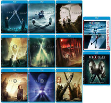 The X-Files:Complete Seasons 1-9+2 Movies+Event Series(59 Blu ray,11 Sets)NEW