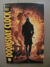 Doomsday Clock #4 DC Comics 2017 Series Watchmen Variant 9.6 Near Mint+