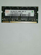 SODIMM 2GB RAM DDR2-800MHZ PC2-6400S MEMORY HYNIX HYMP125S64CP8-S6 NOTEBOOK LAPT