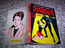DIABOLIK ANNO V N.14 ORIGINALE 1966 M.BUONO TIPO NERI KRIMINAL SATANIK KILLING