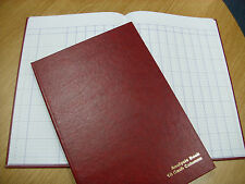 A4 HARD BACK 16 CASH COLUMNS ANALYSIS / ACCOUNTS BOOK - 96 PAGES BRAND NEW