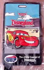 Lightning McQueen 3D Luggage ID Tag Disneyland Resort Cars Land California *NEW*