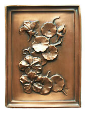 ALBERT GILLES - Copper Repoussé Panel - Signed - Canada - Late 20th Century