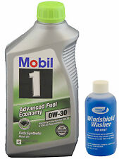 Mobil1 Full Synthetic Advanced Fuel Economy 0W-30 (case) - 6, 1Qt bottles +