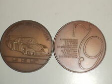 1979 Porsche Christophorus Calendar Coin Münze RARE!! Awesome L@@K