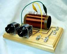DUNWOODY HIGH PERFORMANCE CRYSTAL SET RADIO KIT WITH EARPHONE