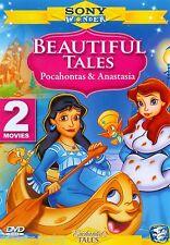 2 MOVIES on 1 DVD Anastasia & Pocahontas - Double Feature (DVD, 2003) in case