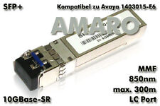 Avaya AA1403015-E6 AA1403015 komp SFP+ 10G SR LC 850nm 300m MMF Transceiver