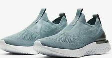 Women's Nike Epic Phantom React Flyknit Running Shoes Black/White BV0415 005
