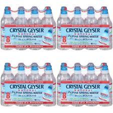 Crystal Geyser Natural Alpine Spring Water Sport Cap Pure & Natural 32-bottles