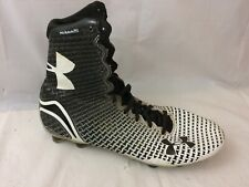 Under Armour Highlight Mc Molded Lacrosse Cleats 1246123 Mens 8.5 M Black Shoes