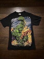 Vintage Marvel Hulk Iron Man Shirt Medium Tultex Tag