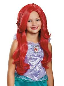 Disney The Little Mermaid Ariel Deluxe Child Costume Wig | Disguise 21191