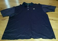 Amen Corner THE MASTERS Mens L Black and Red Polo Golf Shirt Short Sleeve