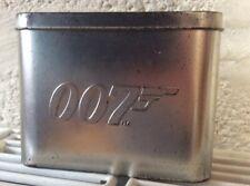 007 James Bond Trading Cards Tin & Cards
