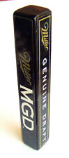 "4 sided MILLER GENUINE DRAFT MGD Beer Tap Handle   9"" tall gear shift knob  # 25"
