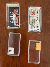 L & S Bait Co MirroLure, made in Clearwater, Fl, Vintage New in plastic boxes