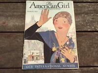 March 1928 The American Girl Scouts Magazine Maggie Salcedo