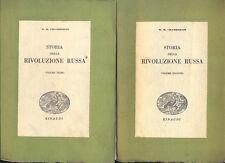 Storia della rivoluzione russa  Chamberlin   Einaudi