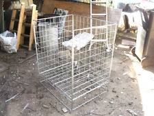 """Foldable Steel Cage 25"""" X 30"""" X 36"""" High"""