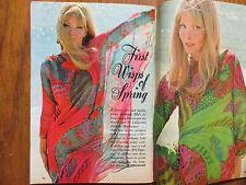 Jan. 14, 1967 TV Guide(LAURA  DEVON/CHARLES  BICKFORD/ART  CARNEY/DOM DE  LUISE)