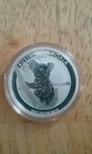2015 PERTH MINT 1/2 OZ .999 SILVER KOALA BU! IN ORIGINAL MINT CAPSULE!