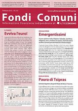 2015 02 - FONDI COMUNI - ALTROCONSUMO - 02 2015 - N.213 - EMERGENTISSIMI