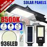3500W 936 LED Solar Street Light Motion Sensor Garden 350000LM Wall Lamp Remote