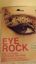 Eye Rock Shadow Transfer Black Stars Eye Tattoos