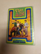 That 70s Show - Season 3 (DVD, 2005, 4-Disc Set)