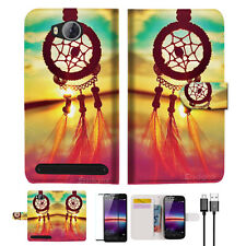 Dream Catcher Wallet TPU Case Cover For HUAWEI Y3 II 2 -- A008