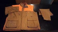Mens Tan/Blaze Orange 3XL BrowninG Canvas Jacket