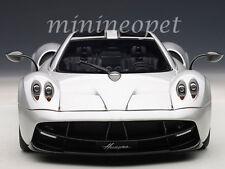 AUTOart 78266 PAGANI HUAYRA SUPERCAR 1/18 DIECAST MODEL CAR SILVER