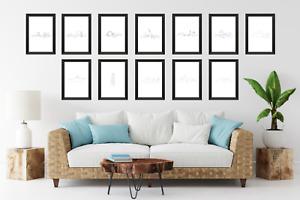 One line prints, London New York Paris etc minimalist design posters