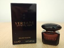 Versace Crystal Noir for Women 5 ml EDT MINI MINIATURE PERFUME FRAGRANCE NEW