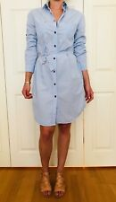 Women's Blue / Striped Filippa K Shirt Dress Sz L