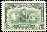 Mint NH Canada 1932 13c F-VF Scott #194 Imperial Economic Conference Stamp
