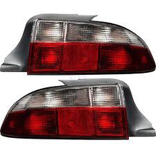 für BMW Z3 Roadster Bj. 1995-1999 Rückleuchten Set Satz rot chrom weiß