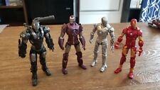 Iron Man 2 Marvel Legends Marvel Universe Iron Man 3.75 Lot of 5 figures