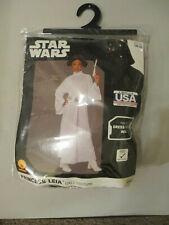 Princess Leia Child Costume Size Small 3-4 Years Rubies Disney