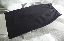 Vintage Jean Paul Gaultier High Waist Gray Pencil Wiggle Skirt Size S